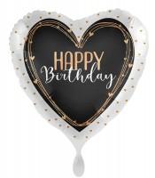 Herz Folienballon Happy Birthday 71cm