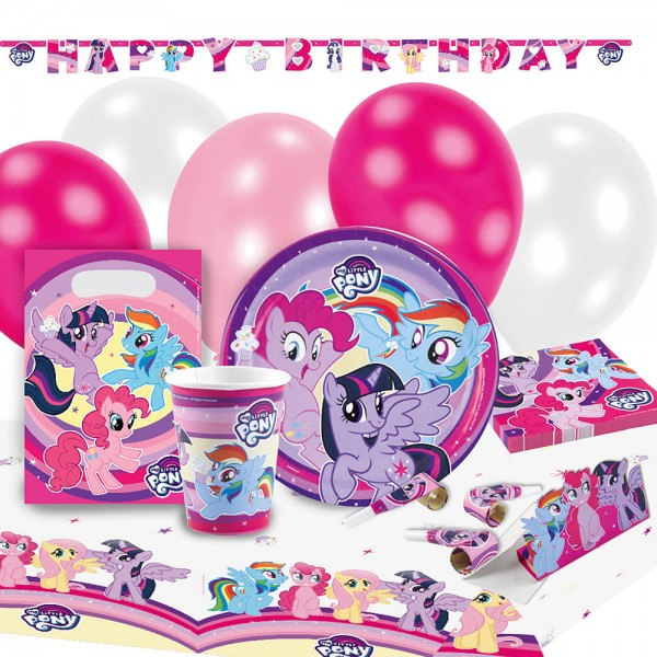 Party Set My Little Pony 70-teilig