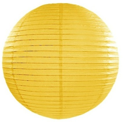 Lampion Lilly yellow 35cm