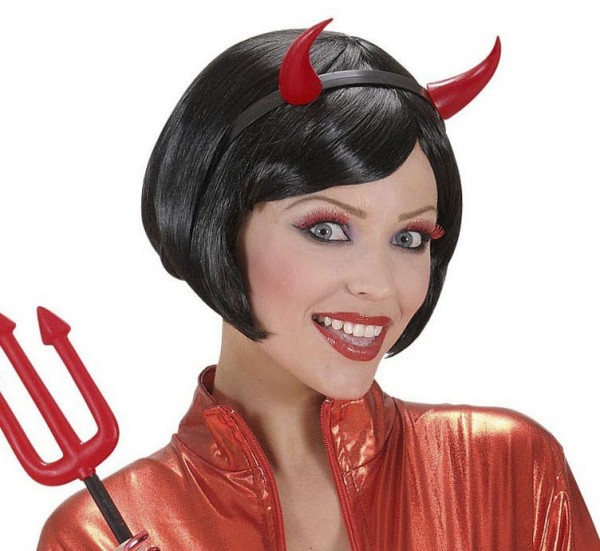 Bandeau de cornes de Satan