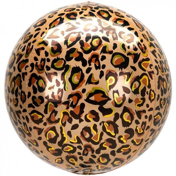 Orbz Folienballon Leopardenmuster 41cm