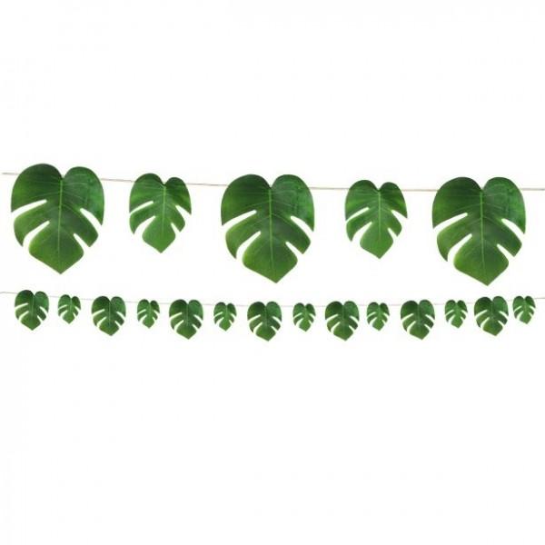 Guirnalda de hojas de palmera Tropica 2.74m