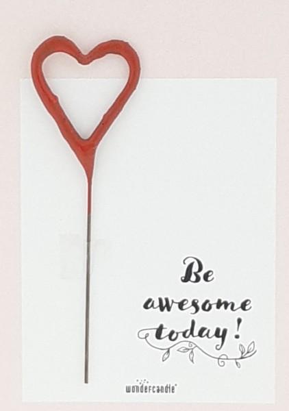 Sii fantastico oggi Wondercard