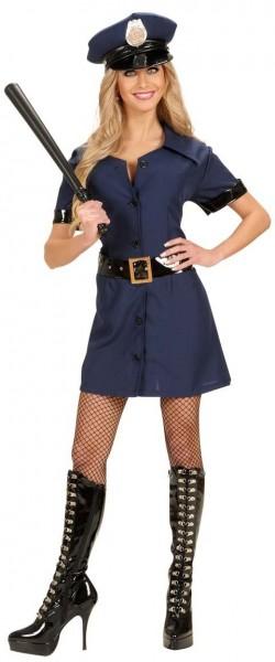 Elegante disfraz de mujer policía Semra