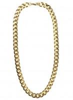 Goldkette Im Protzigen Look 60cm