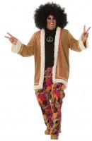 Psychedelisches Hippie Party Herrenkostüm