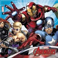 20 Avengers Heroes Servietten 33cm