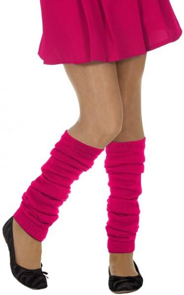 Beinstulpen Neon-Pink