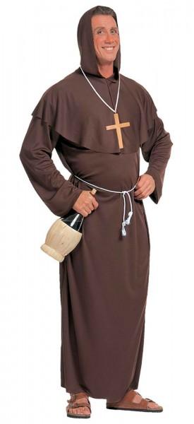 Priester Mönchskostüm Kreuz Anhänger