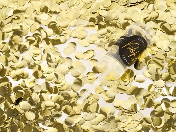 Canon à confettis Partylover argent