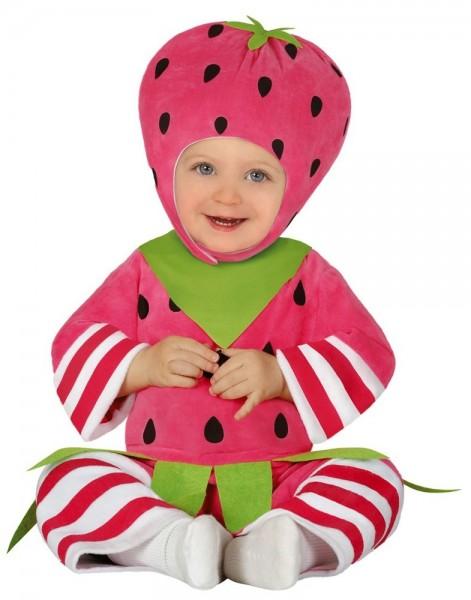 Freches Erdbeer Kostüm für Kleinkinder