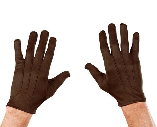 Braune Handschuhe