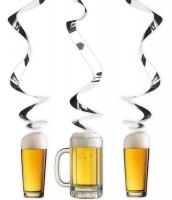 3 Bierfest Spiralhänger 70cm