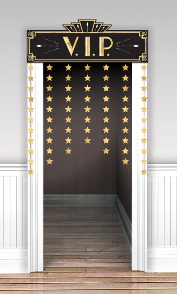 Shine & Glamor decorative door curtain 141 x 98cm