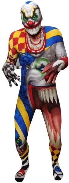 Hardes Horror Clown Morphsuit