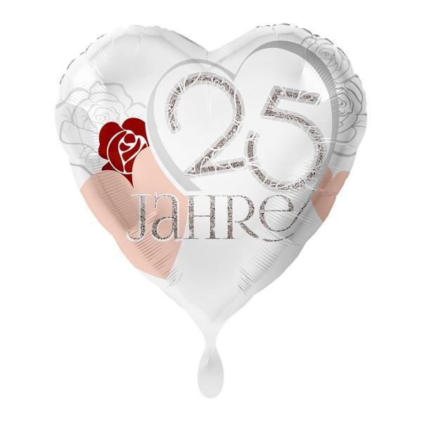 25 glückliche Jahre Folienballon 43cm
