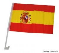 Autofahne Spanien 44 x 30cm