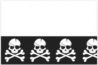 Black Pirates Tischdecke 1,8 x 1,2m