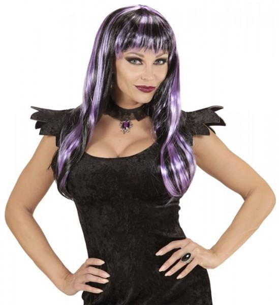 Purple streak paryk Jennifer