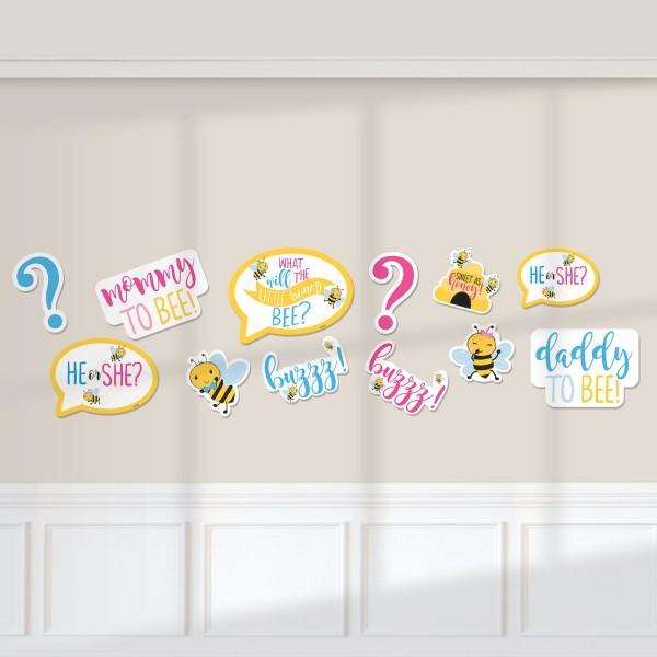 12 Baby Bienen Wandbilder