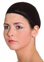 Haarnetz Perücken Schwarz