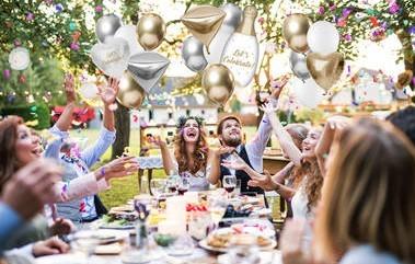 Lets Celebrate Heliumflasche mit Ballons 3