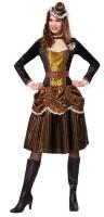 Steampunk Olivia Clinton Belcher Damenkostüm