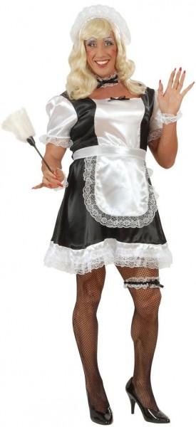 Zimmermädchen Travestie Kostüm für Herren
