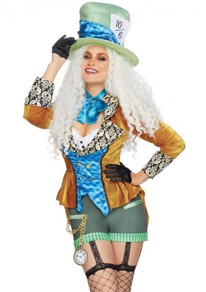Costume da donna sexy cappellaio
