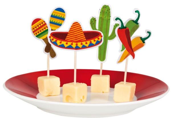 Mexiko Fiesta Käsespieße
