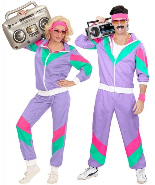 Costume de jogging des années 80
