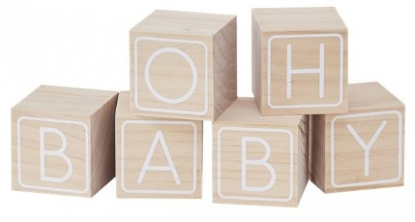 Livre d'or Oh Baby Building Block