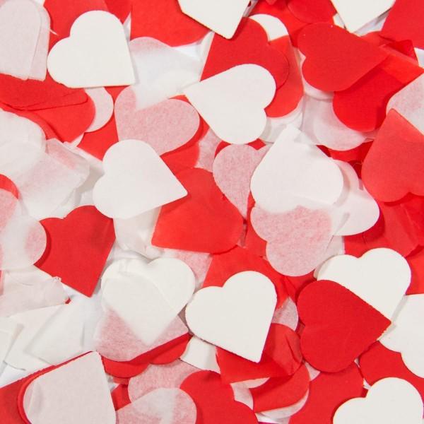 Canon à confettis coeur mix 28cm