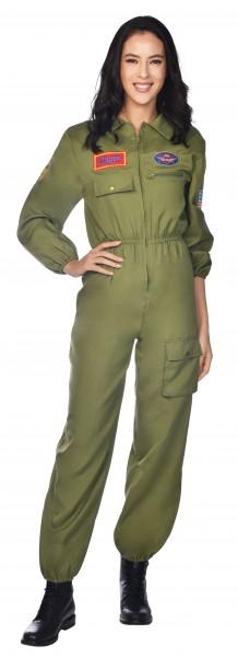 Navy Kampfpilotin Kostüm für Damen
