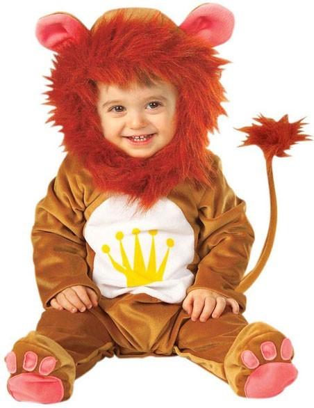 Süßes Löwenkönig Kleinkindkostüm