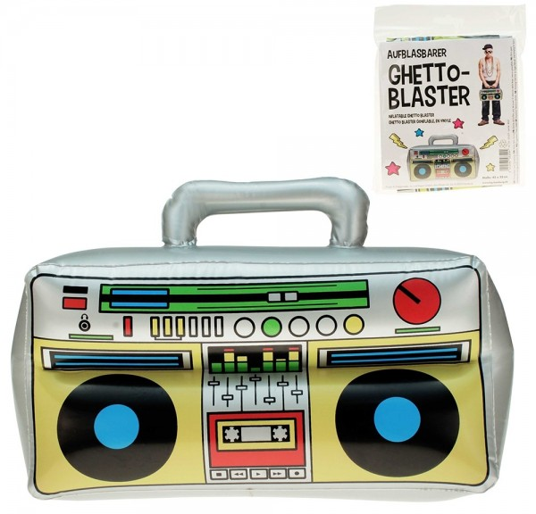 Radio Gaga Ghetto Blaster aufblasbar