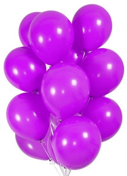 30 Ballons in Violett 23cm