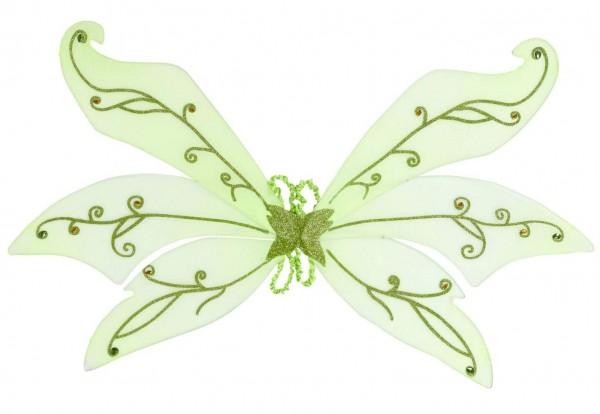 Grüne XXL Feenflügel 106x72cm