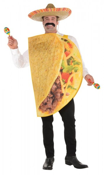 Mr Taco costume for men