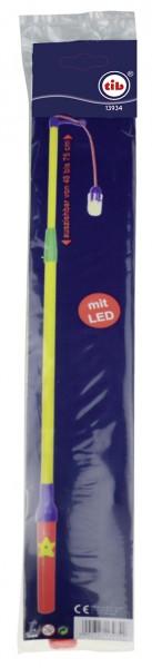 Lanterne LED électrique extensible en bâton Leo 48-75cm