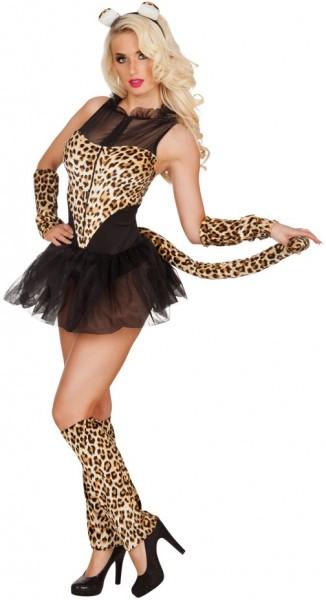 Wildes Katzen Damenkostüm