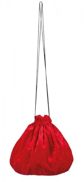 Glamouröser Hexen Beutel Rot