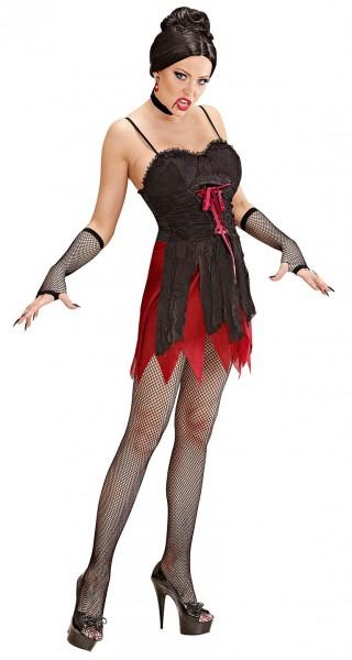 Sexy Vampirin Helloween Kostüm