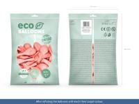 100 Eco metallic Ballons roségold 30cm