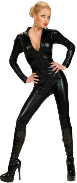 Black catsuit Cathy