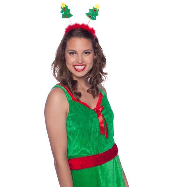 Diadema Reina de los árboles de Navidad