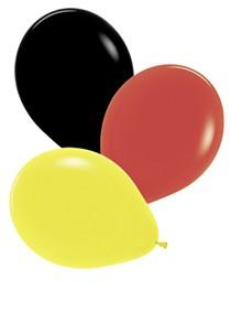 12 gemischte Deutschland Luftballons