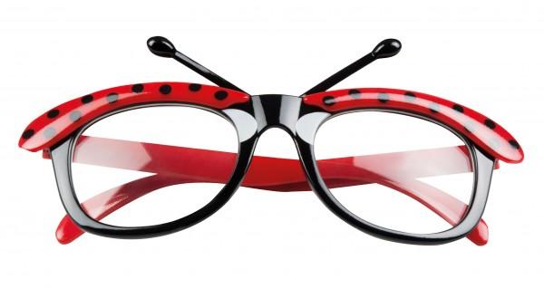 Smarte Marienkäfer Brille