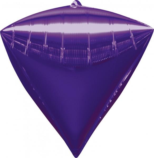 Diamantballon dunkellila