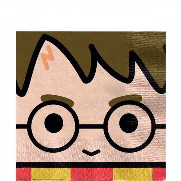 16 Harry Potter comic paper napkins 33cm